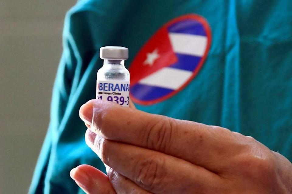 Among Cuba's five COVID-19 vaccine candidates are the Abdala, with more than 92% efficacy, and the Soberana 02, which the government said is 62% effective against the virus.