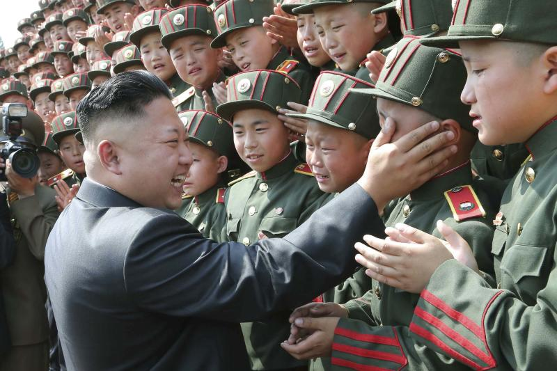 North Korean leader Kim Jong Un visits Mangyongdae Revolutionary School
