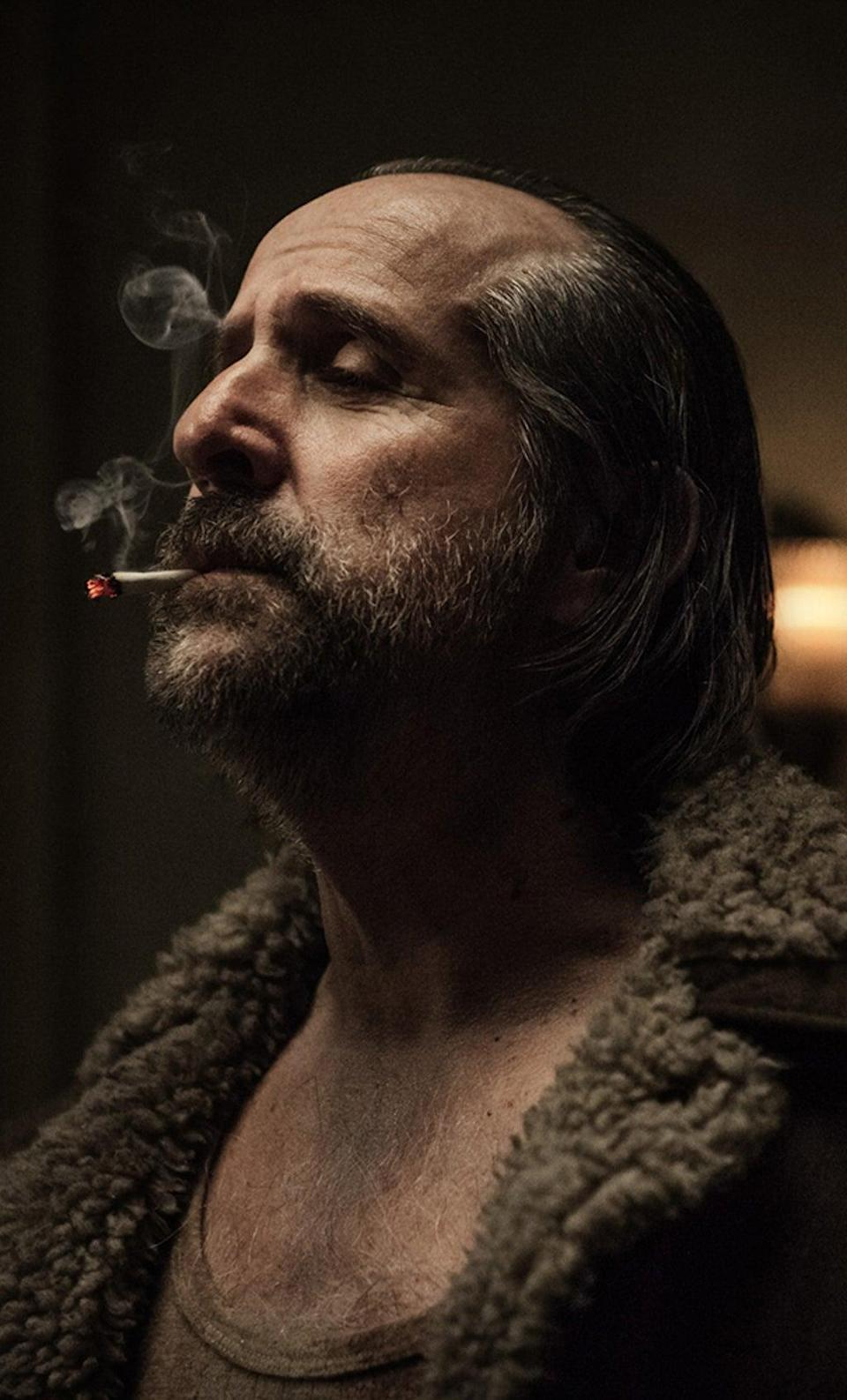 As a Slavic god of darkness and death in the TV series 'American Gods' (Jan Thijs/Amazon Prime/Kobal/Shutterstock)
