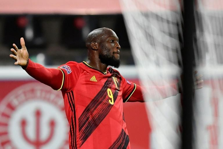 Romelu Lukaku scored twice as Belgium beat Denmark 4-2 to qualify for the Nations League finals