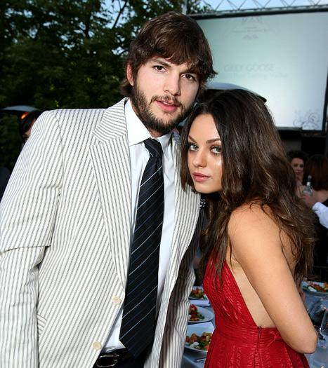 "Ashton Kutcher, Mila Kunis Are ""So Not Dating"""