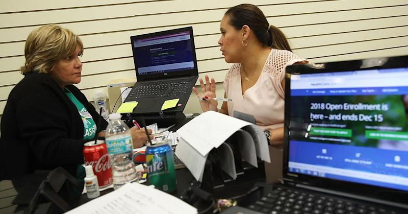 Pace of Obamacare enrollment slows 'dramatically' as Trump administration cuts take effect