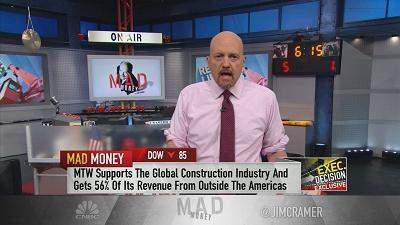 Jim Cramer sits down with Barry Pennypacker, president and CEO of The Manitowoc Company, for his take on the Trump administration's tariffs and the latest on his crane manufacturing business.