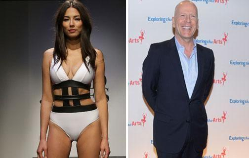 """The runway sensation admits filming the sex scene with Bruce was new territory, and she told the actor he'd """"have to take the lead"""". Source: Getty"""