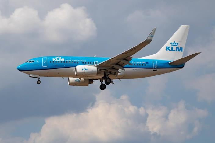 <p>KLM flew a 'flight to nowhere' after reporting a bird strike</p> (Getty Images)