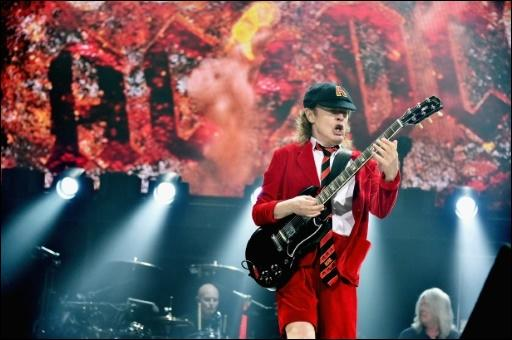 George Youngs Bruder, der AC/DC-Gitarrist Angus Young