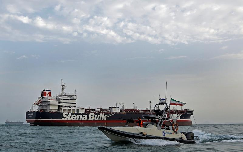 The announcement comes three days after the Iranian seizure of the British-flagged oil tanker Stena Impero further escalated Gulf tensions - REUTERS