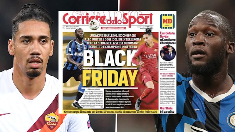 'We remain totally committed to tackling racism' - Roma and Milan ban newspaper for 'Black Friday' headline
