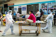 """<p>President Joe Biden announced Sunday that the United States will join several European countries in sending Aid to India. The U.S. will provide financial assistance and raw materials for vaccines.</p> <p>""""Just as India sent assistance to the United States as our hospitals were strained early in the pandemic, we are determined to help India in its time of need,"""" President Biden <a href=""""https://twitter.com/POTUS/status/1386401947729633280?s=20"""" rel=""""nofollow noopener"""" target=""""_blank"""" data-ylk=""""slk:wrote Sunday"""" class=""""link rapid-noclick-resp"""">wrote Sunday</a> on Twitter.</p>"""