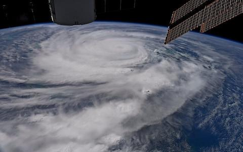 Picture of Hurricane Irma posted on Twitter by US astronaut Randy Bresnik