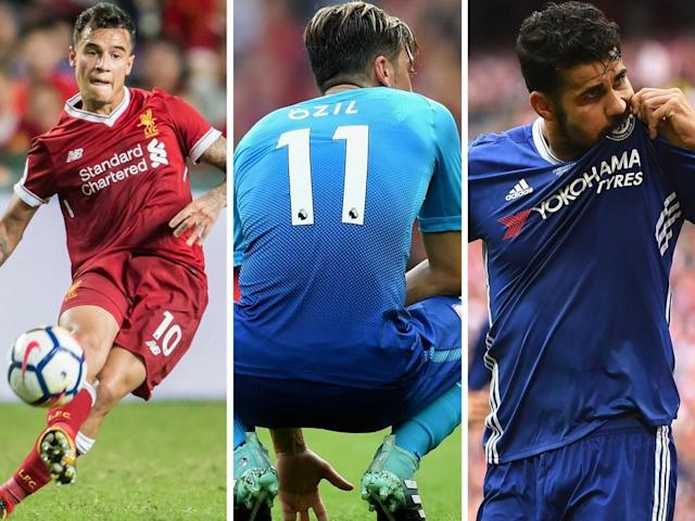 Coutinho, Ozil and Costa – they could yet be sold today