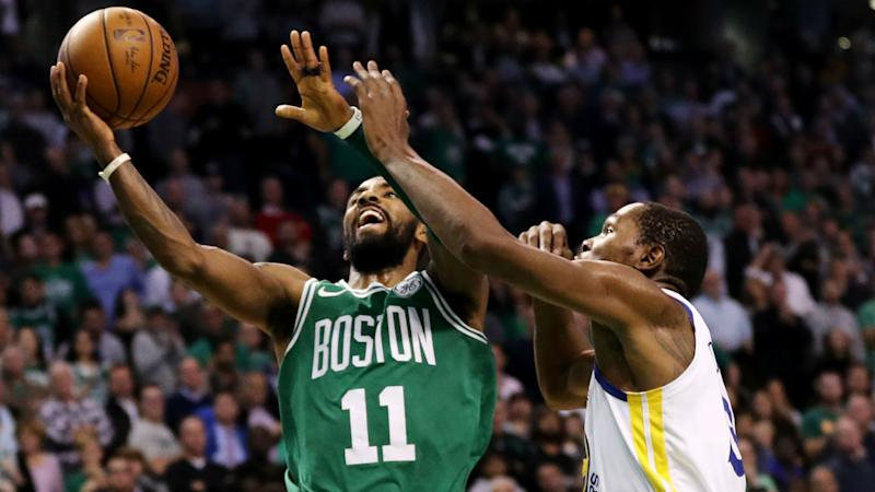 celtics vs warriors score results highlights from golden state s close win