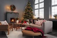 "<p><strong>H&M Home's <a href=""https://www.housebeautiful.com/uk/christmas/"" rel=""nofollow noopener"" target=""_blank"" data-ylk=""slk:Christmas"" class=""link rapid-noclick-resp"">Christmas</a> 2020 collection is filled with beautiful modern rustic <a href=""https://www.housebeautiful.com/uk/decorate/display/g177/best-christmas-tree-baubles/"" rel=""nofollow noopener"" target=""_blank"" data-ylk=""slk:decorations"" class=""link rapid-noclick-resp"">decorations</a>, vintage yet eclectic soft furnishings, and warm, rich hues for every space. </strong></p><p>The Swedish retailer's key theme this year is all about creating somewhere welcoming for friends and family to gather together. </p><p>'This year the holiday period at H&M Home is all about tradition and caring and sharing. We want to celebrate ""small happiness"" in the form of relaxing experiences, sensorial rituals and moments of generosity. We think celebrating with our loved ones, caring for one another and being generous with time and love will be of essence this year,' says Evelina Kravaev Söderberg, Head of Design and Creative. </p><p>Shop some of our top picks...</p>"