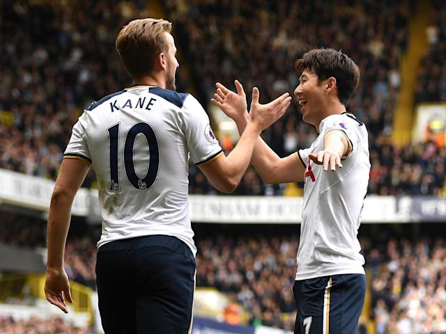 Kane and Son were both outstanding on Saturday (Getty)