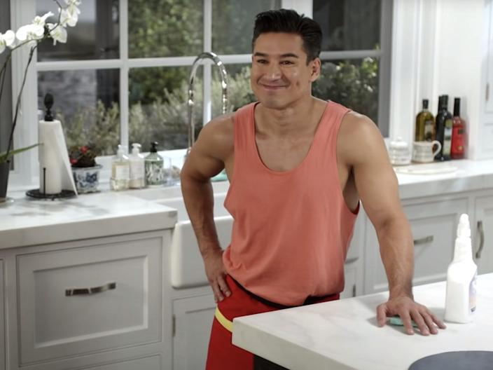 Mario Lopez Saved by the Bell Peacock TV reboot