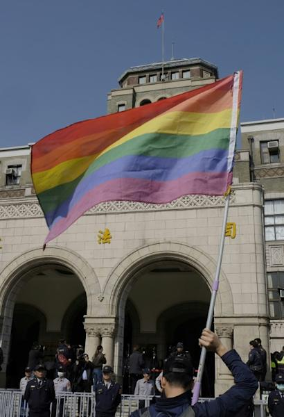 Taiwan's constitutional court began hearing a landmark case on March 24 that could make the island the first place in Asia to allow same-sex marriage