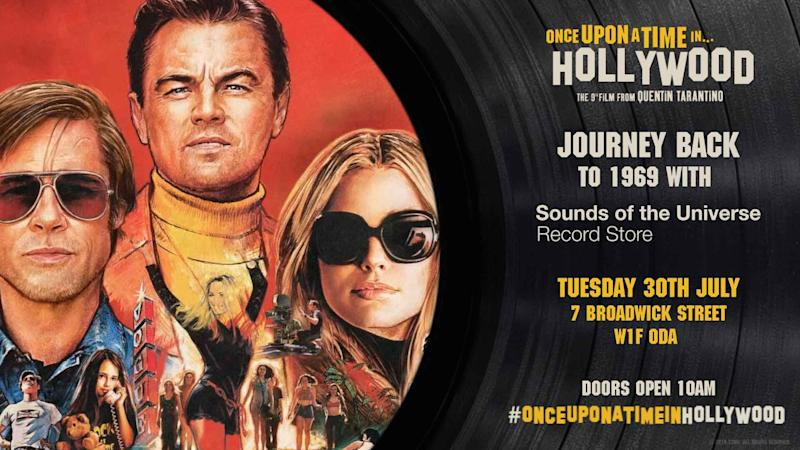 Tarantino fans will not want to miss this. (Sony Pictures)