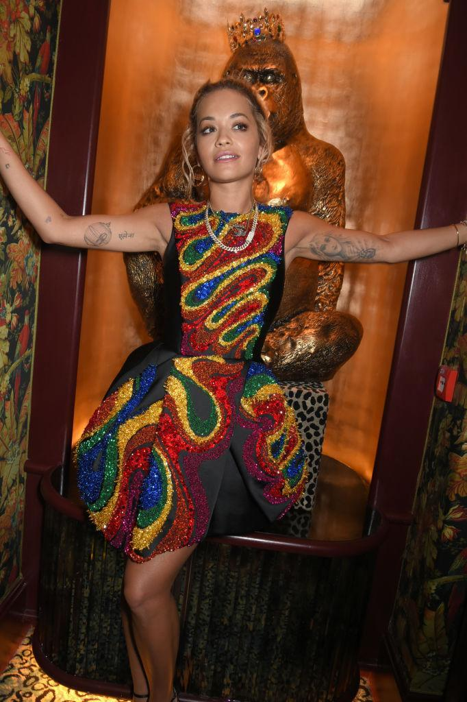 <p>Hands up, who else is totally obsessed with Rita Ora's puffball dress by Dice Kayek? <em>[Photo: Getty]</em> </p>
