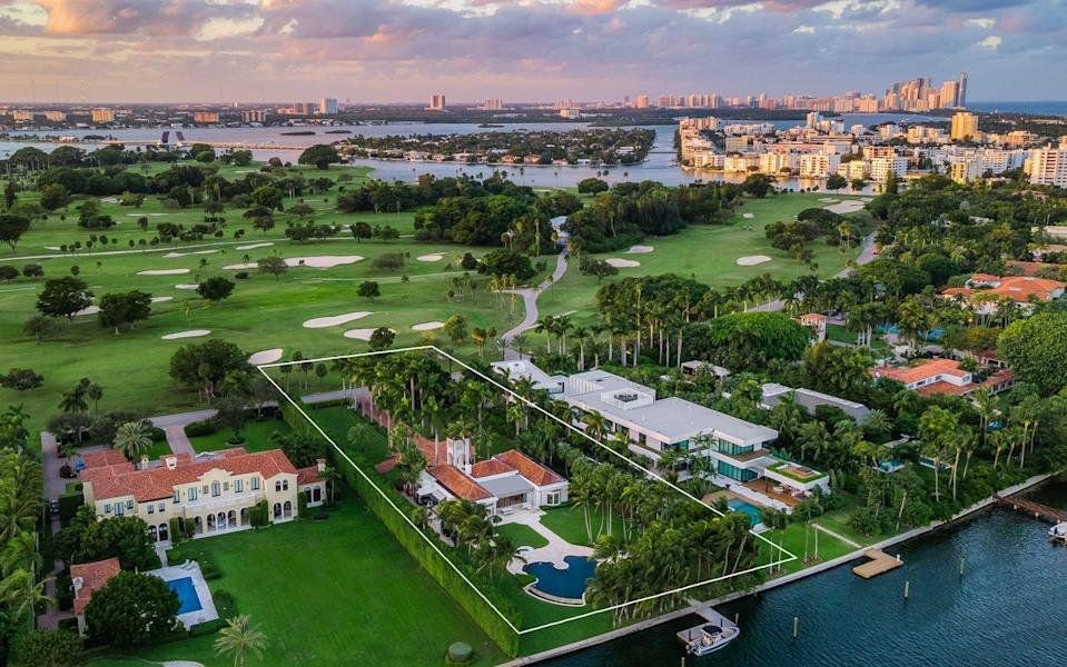 The only property currently on sale on top-security island Indian Creek is priced at $27.9m