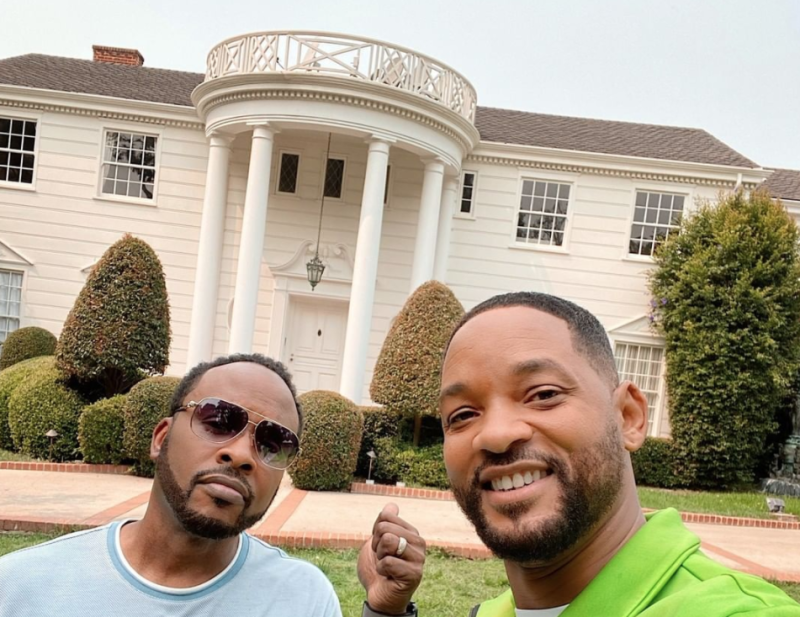 Will Smith teams up with Airbnb to rent out Fresh Prince house
