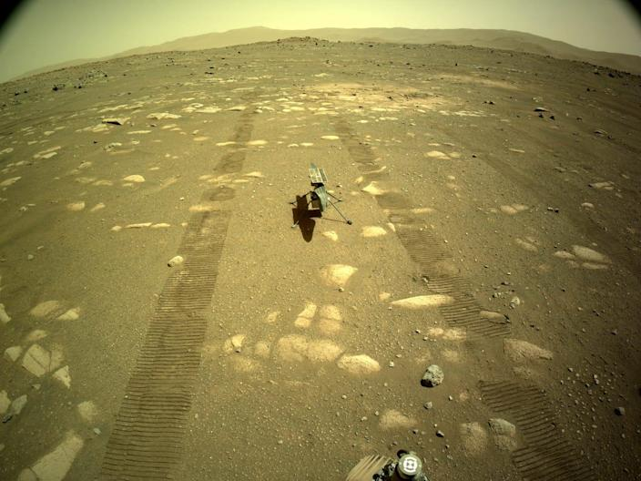 Mars ingenuity helicopter nasa perseverance rover