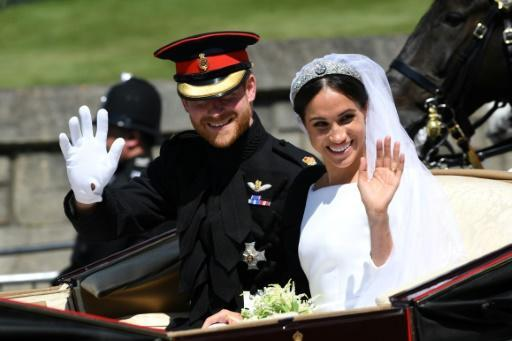 Harry and Meghan were married on May 19, 2018