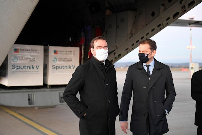 Virus Outbreak Slovakia Sputnik V (ASSOCIATED PRESS)