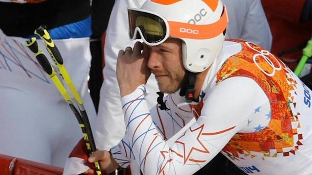 Thirty-six year-old Alpine skier Bode Miller wins bronze medal, mixed with emotions in remembering his brother who died of a seizure last year. Jillian Kitchener reports.