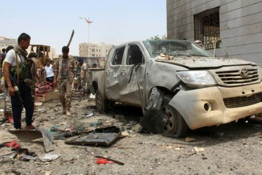 'IS suicide bomber' kills 71 army recruits in Yemen