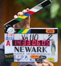 <p>View of the clapper is seen on the set of <em>The Many Saints of Newark</em> on May 31, 2019 in New York City.</p>