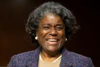Senate Foreign Relations Committee Confimration hearing for UN ambassador nominee Linda Thomas-Greenfield in Washington
