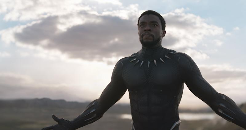 Chadwick Boseman as T'Challa in 'Black Panther' (Photo: Disney/Marvel Studios)