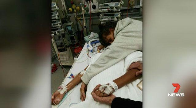 Danishar's heart had stopped after a predicted 230 vaults passed through her body. Source: 7News