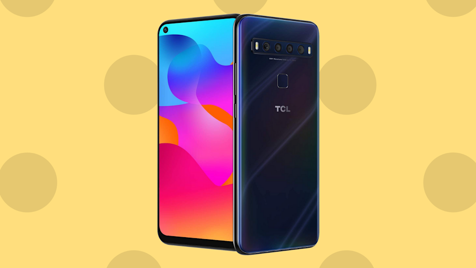 Tired of phone retailers dictating your choice of carrier? They're not the boss of you! Go unlocked with this TCL 10L Android smartphone. (Photo: Amazon)