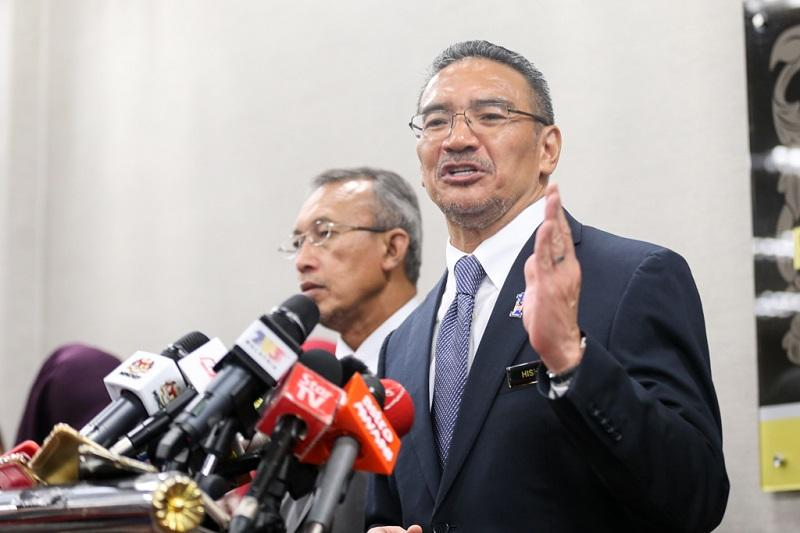 MACC had cited the questioning of Hishammuddin and Saudi princes in its request to extend Hasanah's remand by seven days. — Picture by Ahmad Zamzahuri