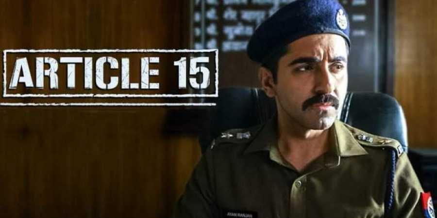 Article 15 Movie Review: Committed performances lift Anubhav Sinha's dark  thriller- The New Indian Express