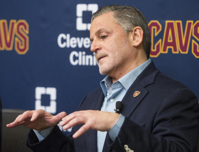 Cavaliers owner Dan Gilbert's team is reportedly valued at $1.325 billion. (AP)