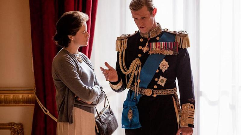 The show's producers confirmed Claire Foy, who plays the Queen in the series, was paid less than co-star Matt Smith, who plays Prince Philip. Source: Netflix