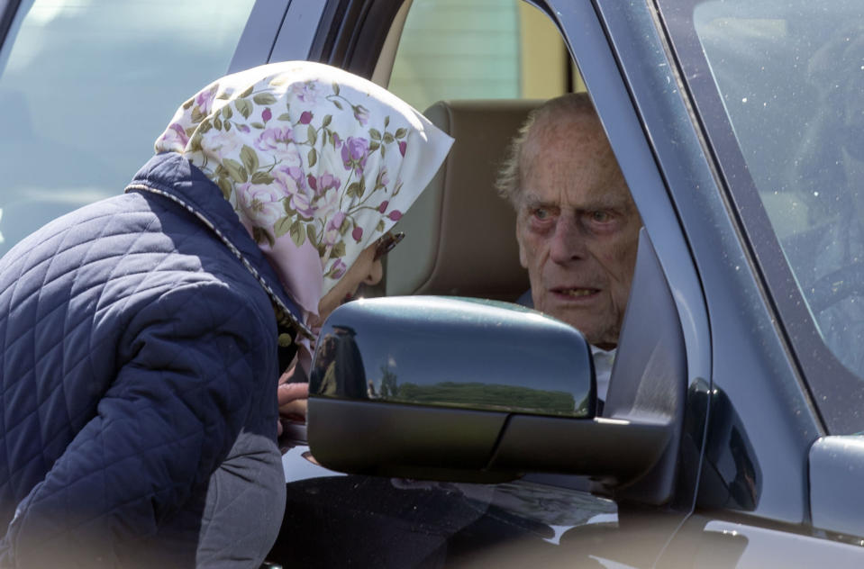 <em>The 97-year-old duke has passed a police eyetest (Picture: PA)</em>