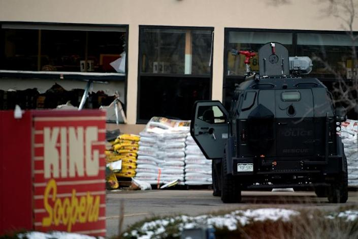 Dozens of armored vehicles, ambulances and armed personnel including FBI agents and SWAT teams were deployed to the scene