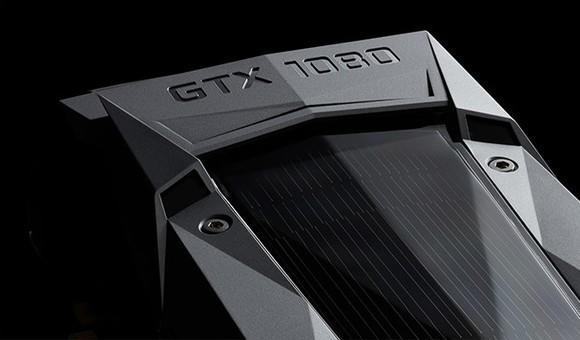 NVIDIA GTX 1080 graphics card.