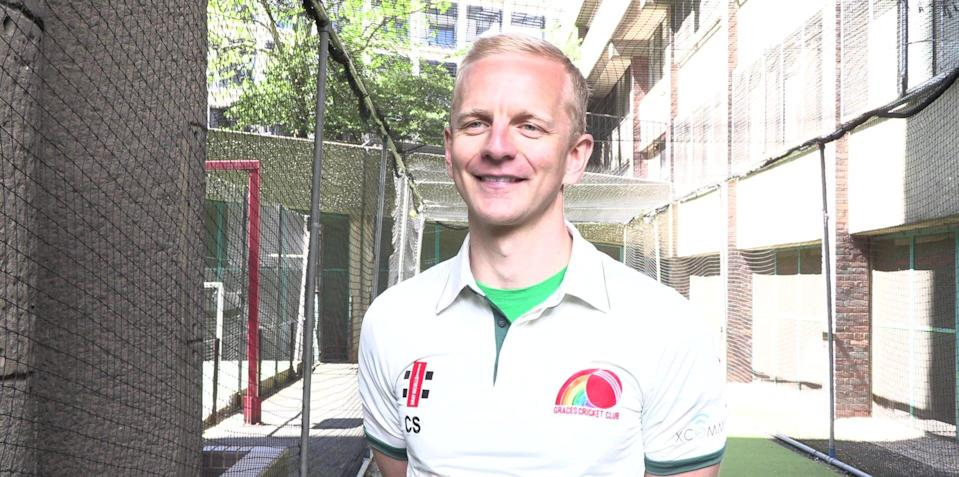 Chris Sherwood from Graces Cricket Club speaks to the PA news agency