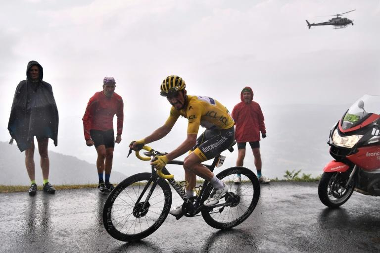 France's Julian Alaphilippe ends drama-filled week in yellow
