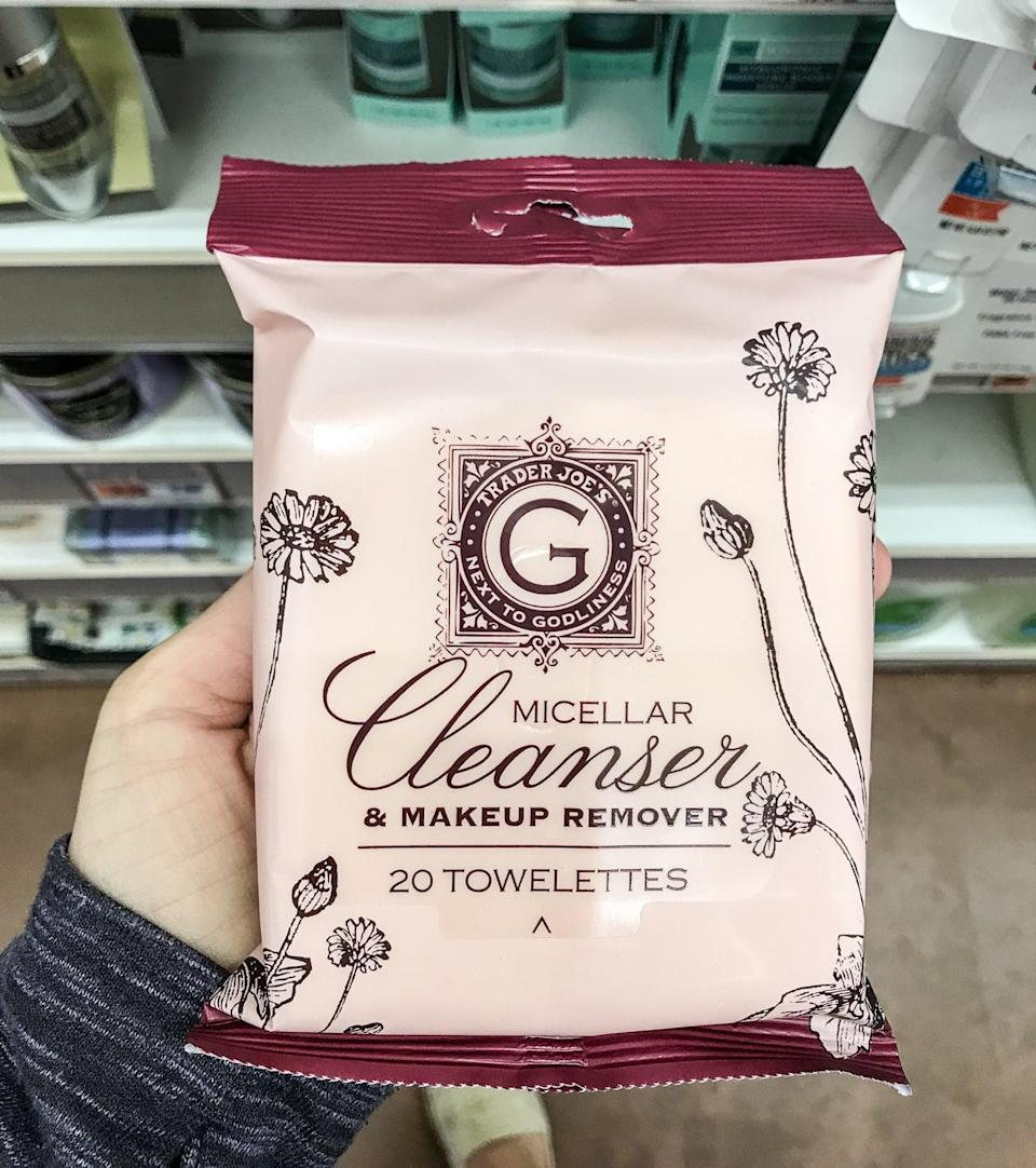 <p>This is a staple for anyone who wears, well, makeup. Twenty towelettes for around $4, these bad boys don't just clean but tone as well. Boom.</p>