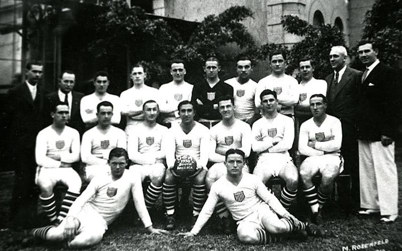 USA World Cup squad 1930