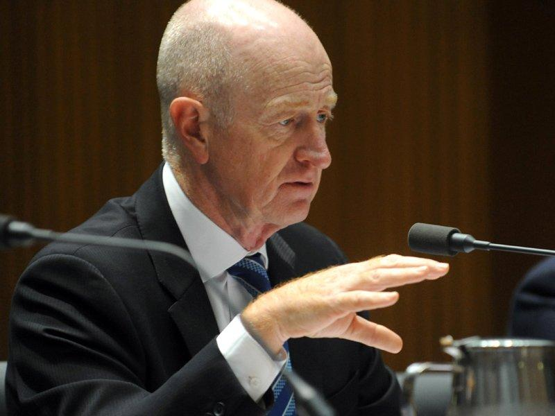 RBA chief comfortable with rate settings