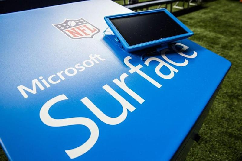 Microsoft, NFL respond to Belichick's complaints about Surface tablets