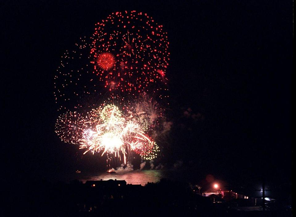 <p>There are literally fireworks the night of the wedding. It was <em>that</em> lavish. </p>
