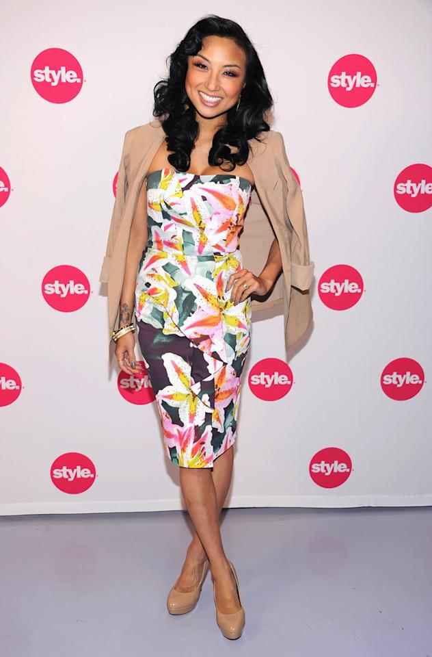 "Jeannie Mai (""<a href=""http://tv.yahoo.com/how-do-i-look/show/47844"">How Do I Look?</a>"") attends Style Network's Upfront Presentation at DVF Studio on April 18, 2012 in New York  City."