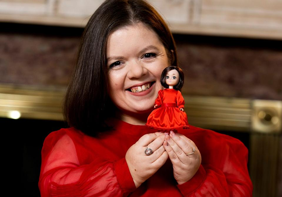 Lottie's Sinéad doll was inspired by Sinéad Burke, a contributing editor to British Vogue.